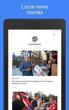 Google समाचार - स्थानीय और दुनिया भर के समाचार स्क्रीनशॉट 8