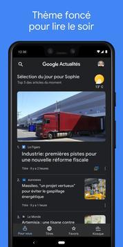 Google Actualités capture d'écran 5