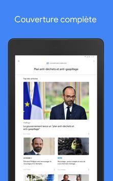 Google Actualités : info locale et internationale capture d'écran 7