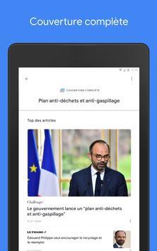 Google Actualités : info locale et internationale capture d'écran 13