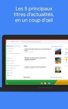 Google Actualités : info locale et internationale capture d'écran 11