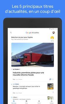 Google Actualités : info locale et internationale capture d'écran 12