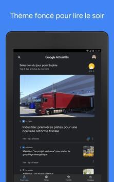Google Actualités capture d'écran 10