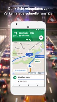 Google Maps – Navigation und Nahverkehr Plakat