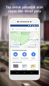 Google Maps Go - Arah, Trafik & Transportasi Umum poster