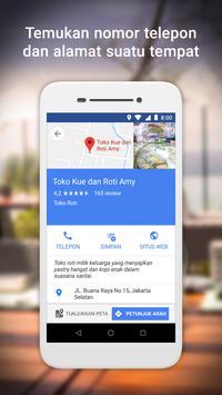 Google Maps Go - Arah, Trafik & Transportasi Umum screenshot 4