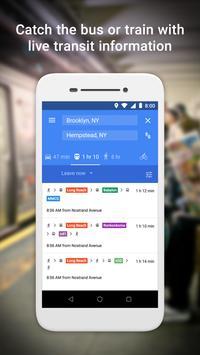 Google MapsGo-Itinéraires, trafic et transports capture d'écran 2