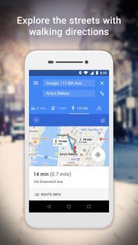 Google MapsGo-Itinéraires, trafic et transports capture d'écran 3