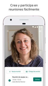 Google Meet: videollamadas seguras Poster