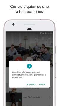 Google Meet: videollamadas seguras captura de pantalla 1