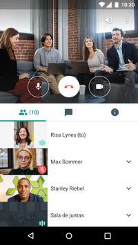Hangouts Meet captura de pantalla 2