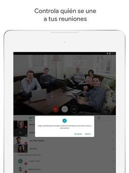 Google Meet captura de pantalla 9