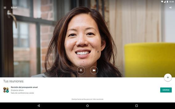 Hangouts Meet captura de pantalla 6