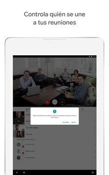 Google Meet: videollamadas seguras captura de pantalla 9