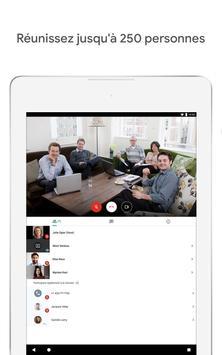 Google Meet : des visioconférences sécurisées capture d'écran 10