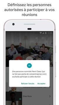 Google Meet : des visioconférences sécurisées capture d'écran 1