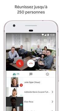 Google Meet : des visioconférences sécurisées capture d'écran 2