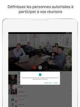 Google Meet : des visioconférences sécurisées capture d'écran 5