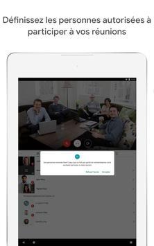 Google Meet : des visioconférences sécurisées capture d'écran 9