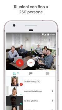 2 Schermata Google Meet: video riunioni sicure