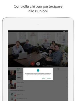 5 Schermata Google Meet: video riunioni sicure