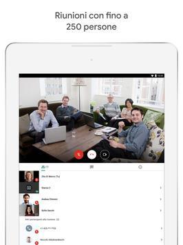 6 Schermata Google Meet: video riunioni sicure