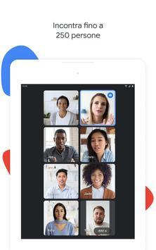 8 Schermata Google Meet