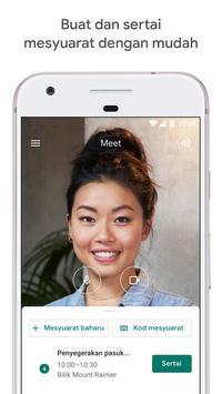 Google Meet poster