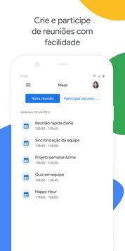 Google Meet Cartaz