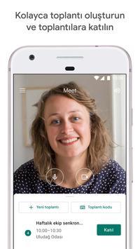 Google Meet gönderen