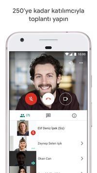 Google Meet Ekran Görüntüsü 2