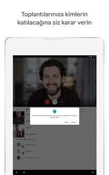 Google Meet Ekran Görüntüsü 9