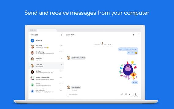Messages screenshot 2