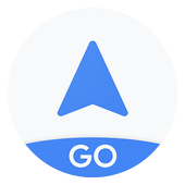 Navegação do Google Maps Go ícone