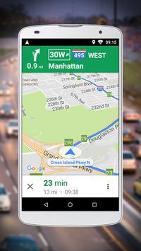 Navegação do Google Maps Go Cartaz