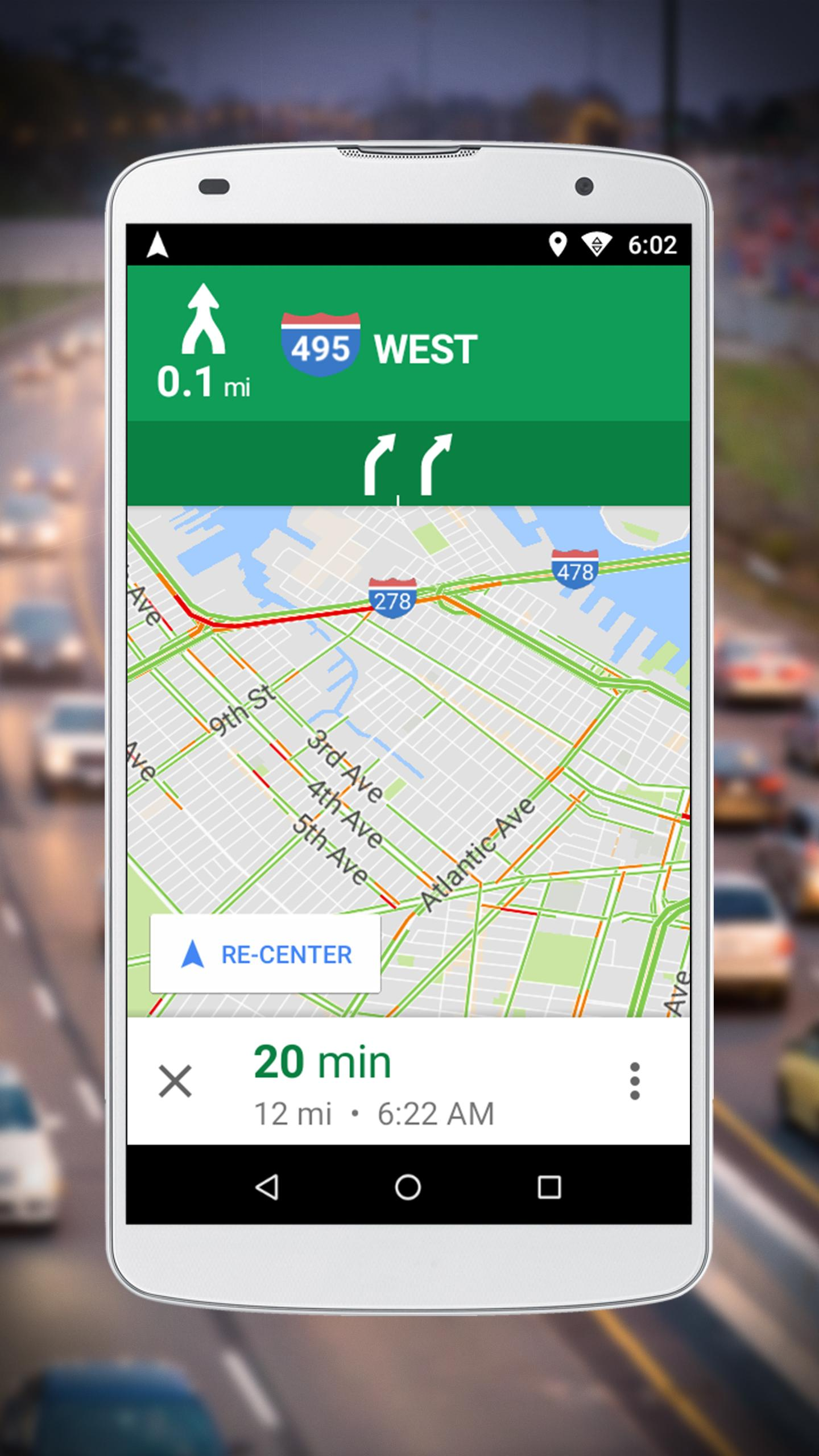 Navigation for Google Maps Go for Android - APK Download