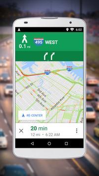 Navegação do Google Maps Go imagem de tela 2