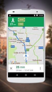 2 Schermata Navigatore per Google Maps Go