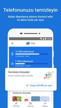 Google Files gönderen