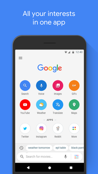 Google Go poster