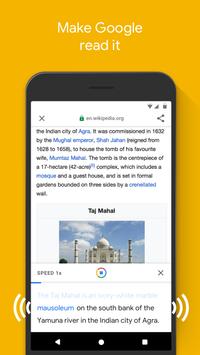 Google Go screenshot 2