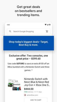 Google Shopping: Discover, compare prices & buy 스크린샷 3