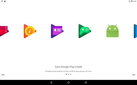 Google Opinion Rewards تصوير الشاشة 8