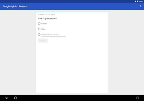 Google Opinion Rewards screenshot 6