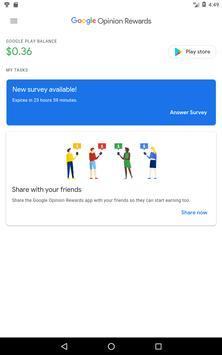 Google Opinion Rewards تصوير الشاشة 5