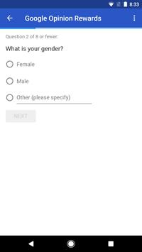 Google Opinion Rewards screenshot 2