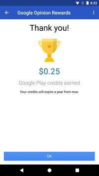 Google Opinion Rewards تصوير الشاشة 3