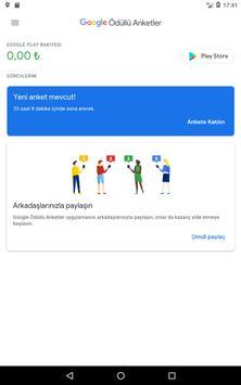 Google Ödüllü Anketler Ekran Görüntüsü 9