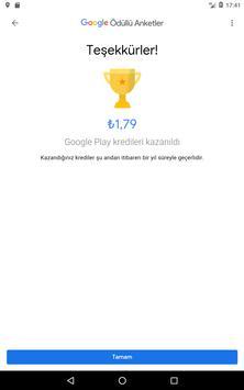 Google Ödüllü Anketler Ekran Görüntüsü 11