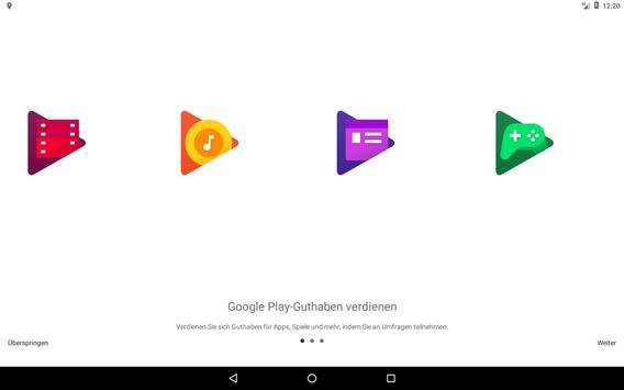 Google Umfrage-App Screenshot 4